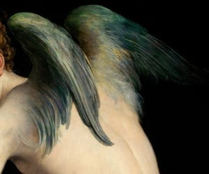 angel, art, and renaissance image