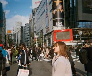 aesthetic, disposable camera, and shibuya image