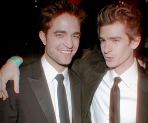 andrew garfield, robert pattinson, and Hot image