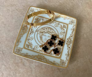 accessories, cartier, and gold image