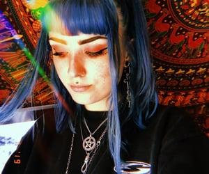 aesthetic, alternative, and medusa piercing image