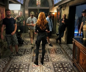 actress, clary fray, and katherine mcnamara image