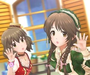 the idolm@ster, deresute, and aiko takamori image
