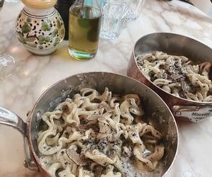 food, pasta, and yumm image