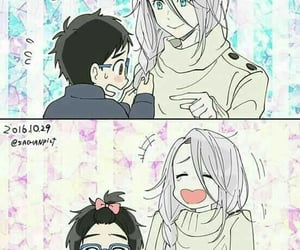ice skating, yuri katsuki, and yuri !!! on ice image