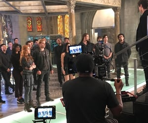 clary fray, dominic sherwood, and shadowhunters image