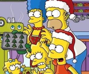 bart, christmas, and family image