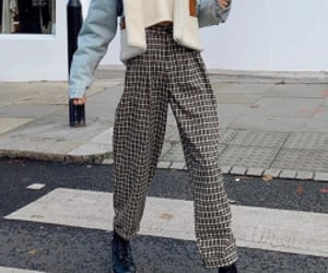 hair, style, and trousers image