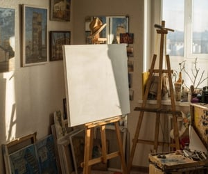 art, beige, and create image