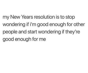 me, new years, and resolution image