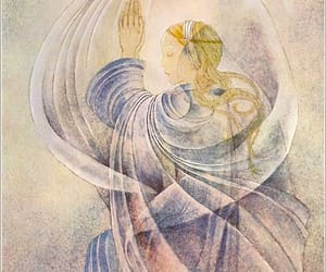 ethereal, sulamith wulfing, and mystical image