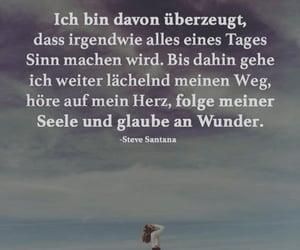 deutsch, herz, and spruch image