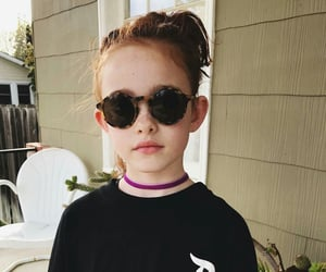 doughter, photography, and sunglass image