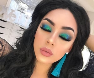 belleza, maquillaje, and glitter image