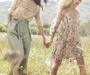 fashion, girl, and brown hair image