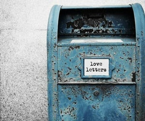 aesthetic, letters, and love letter image