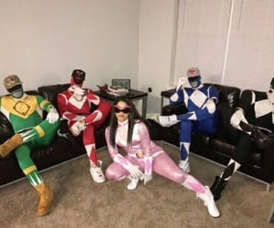 squad, Halloween, and power rangers image
