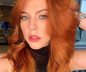 ginger, hair, and redhead image