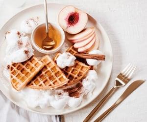 food and waffles image
