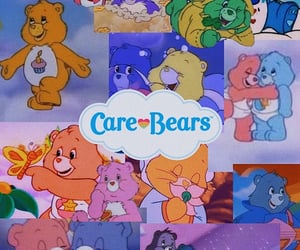 aesthetic, background, and care bears image