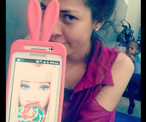 android, cover, and barbie image