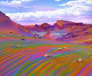 colorful, rainbow, and candycolors image