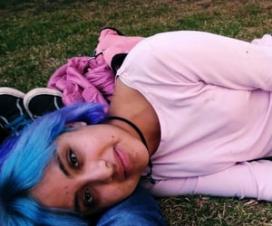 bluehair, pinkhair, and e image