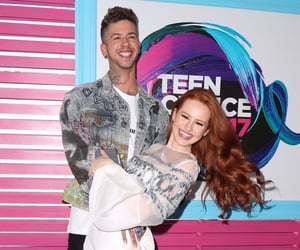 couple, funny, and madelaine petsch image