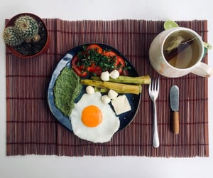 bon appetit, breakfast, and delicious image