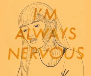 yellow, aesthetic, and nervous image