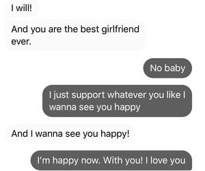 boyfriend, partner, and together image