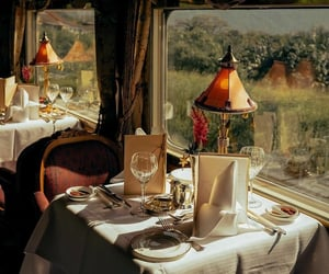 cafe, restaurant, and train image