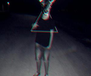 boy, photography, and triangle image