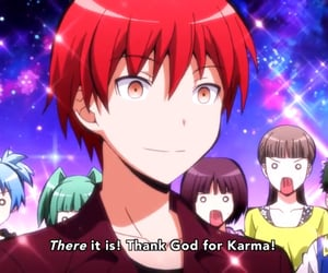 anime, karma, and assassination classroom image