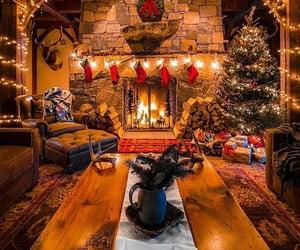 christmas, warm, and cozy image
