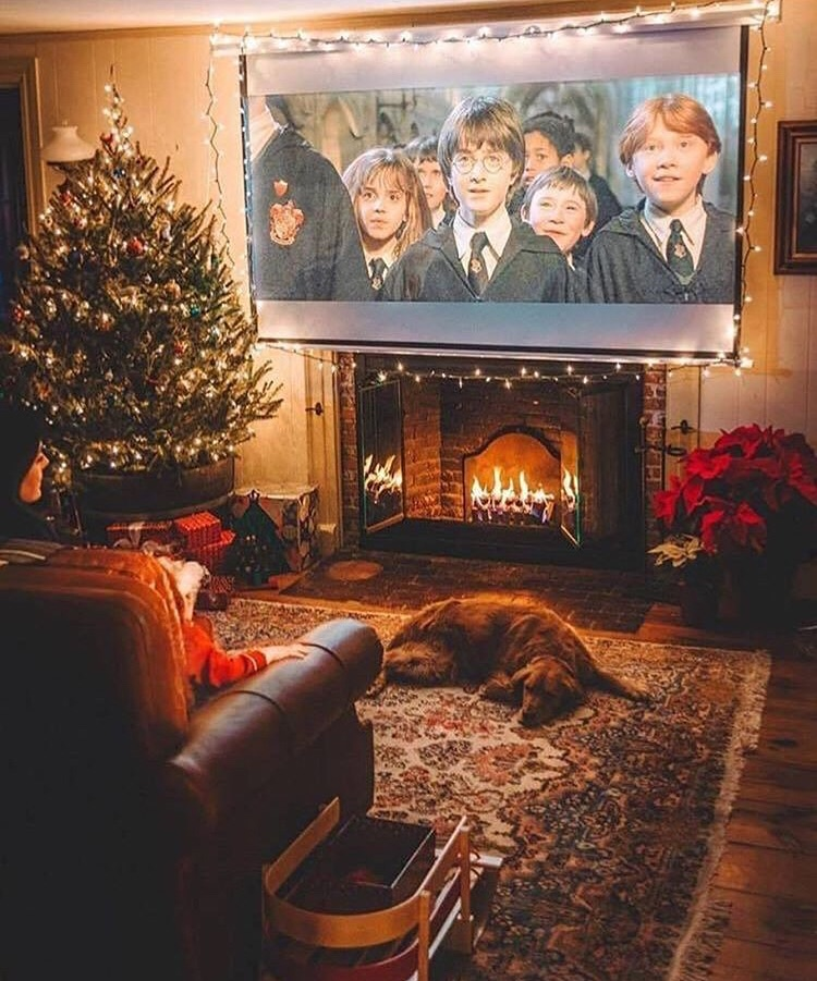 Imagem de christmas, cozy, and harry potter