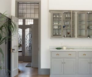 architecture, cabinets, and chic image