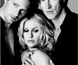 b&w, Eric Northman, and black and white image
