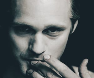 black and white, Eric Northman, and sexy man image