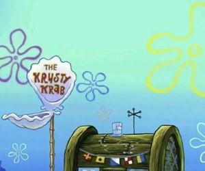 background, sponge bob, and under the sea image