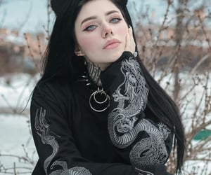 aesthetic, girl, and eboy image