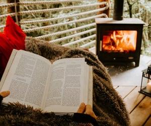 books, design, and interior image
