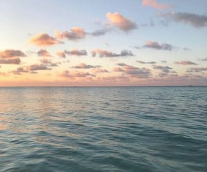 sea, sky, and beautiful image