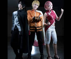 cosplay, naruto cosplay, and haruno image