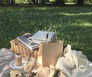 aesthetic, picnic, and nature image