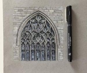 arquitectura, blanco y negro, and arte image