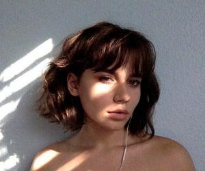 beauty, girl, and short hair image