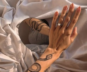 tattoo, beauty, and hands image