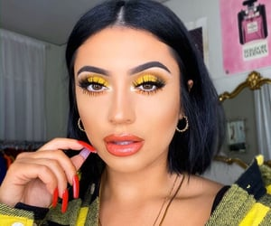 beauty, yellow, and inspo image