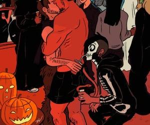 art, Halloween, and Devil image